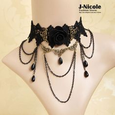 Cheap jewelry for boys necklaces, Buy Quality jewelry snake directly from China jewelry spring Suppliers:European Gothic Lolita Retro Black Tassel Victorian Flower Punk Lace Collar Vintage Necklaces Handmade Wedding Jewelry N