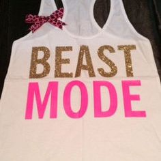 @Amber Wohlfeil  Beastmode Racerback Tank - Workout Tank - Workout Clothing - Fitness T – Ruffles with Love