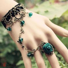 Flower ring/bracelet. I'd probably end up breaking it though on accident >_