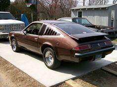 Almost died in this car, '75 Monza. Mine was white with a V8