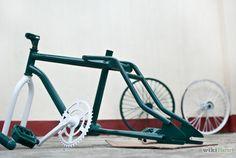Como pintar una bicicleta en pocos pasos