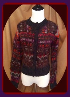 Make OFFER ❤️ Free People Muli Color Cardigan Size XS Retails $118 | eBay