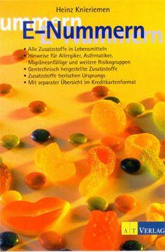 Buch: E-Nummer Hinweisliste bei Allergie