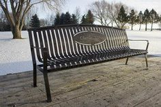 Custom Business Signs, Business Logo, Powder Coating, Outdoor Furniture, Outdoor Decor, Benches, Decorative Items, Memories, Funeral