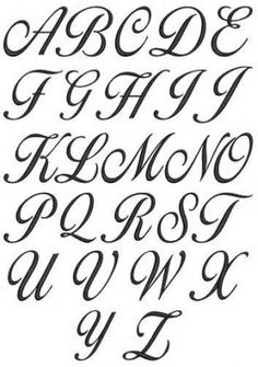 Cursive Alphabet A To Z A z cursive lettering for Alphabet A, Style Alphabet, Cursive Fonts Alphabet, Tattoo Lettering Fonts, Calligraphy Handwriting, Letter Fonts, Fancy Handwriting, Fancy Writing Alphabet, Handwriting Styles