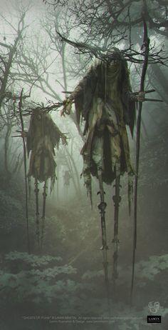 My favorite creepy fantasy art Arte Horror, Horror Art, Dark Fantasy, Fantasy World, Fantasy Kunst, Fantasy Art, Arte Obscura, Fantasy Inspiration, Creature Design