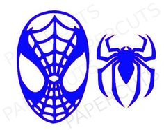Spiderman digital cut files for cameo and by papercutsvan on Etsy, $2.99