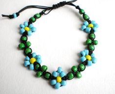 Spring Equals Several Shades of Green by Isobel Morrell on Etsy