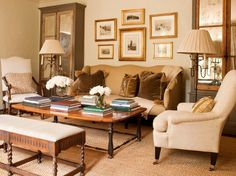 Tammy Connor...love the warm inviting colors, and antiqued mirrors.