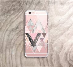 iPhone 6s Case Transparent Marble iPhone 6S Case by casesbycsera
