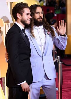 Jared and Zedd - 87th Academy Awards Dolby Theatre Hollywood L.A 22 February 2015