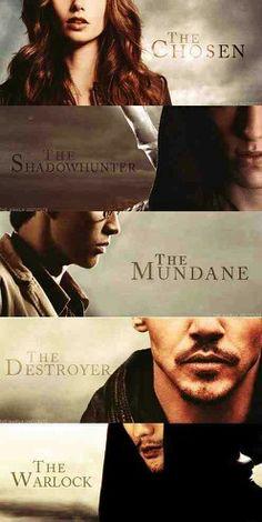 The Mortal Instruments.