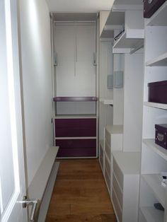 narrow walk in closet idea walk in closet pinterest narrow