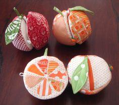 Apple and Orange Sewing Kit