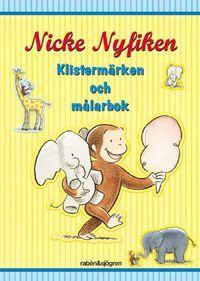 Nicke Nyfiken - Klistermärken och målarbok (häftad)