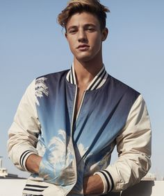 Cameron Dallas Fronts American Eagle Outfitters' #WeAllCan Campaign #refinery29 http://www.refinery29.com/2017/01/136763/american-eagle-cameron-dallas-spring-2017-campaign