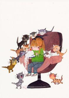 Bobo- Bookcover Cats | Fiep Westendorp (Jip and Janneke) | PostcardWorld.eu