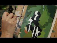 Intro Youtube, Evergreen, Original Artwork, Moose Art, Canvas, Artist, Nature, Painting, Animals