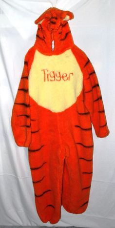 Infant Tigger Costume Adorable Tigger Costume with detachable tail and head piece. Disney Costumes Halloween | Halloween | Pinterest | Tigger and Costumes & Infant Tigger Costume Adorable Tigger Costume with detachable tail ...