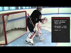 An excerpt from Goaler U's Instructional Goaltending Mastery series. This particular section is focusing on glove saves. Hockey Training, Save Video, Hockey Goalie, Goalkeeper, Coaching, Gloves, Arm, Hockey Stuff, Baseball Cards