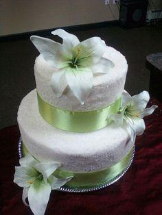 Sugared Wedding Cake