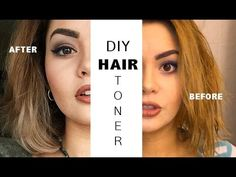 Tone Your Hair at Home | Get Rid of Brassy Yellow or Orange