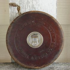 Tape Measure - in Leather Case