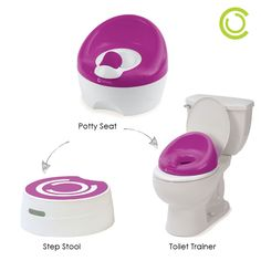 The Contours Bravo Potty features 3 modes to grow with your toddler has they begin to potty train! #pottytraining #toddler