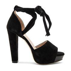 RAYE Hadley Pump (77 BHD) ❤ liked on Polyvore featuring shoes, pumps, heels, platform heels pumps, heel platform shoes, high heeled footwear, wrap shoes and platform shoes