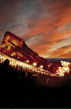 Red Rocks, the place I'm lucky to call my summer concert venue!