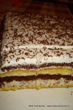 Stracciatella torta Torte Cake, Christmas Baking, Cake Cookies, Nutella, Tiramisu, Biscuits, Sweet Tooth, Sweet Treats, Sweets