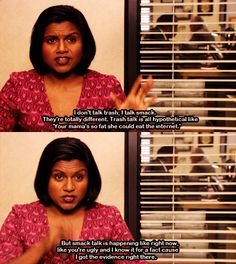 The Office - Kelly Kapoor Mindy Kaling Best Of The Office, The Office Show, Dale Carnegie, Kelly Kapoor, Office Jokes, Funny Office Quotes, Mindy Kaling, Parks N Rec, My Guy