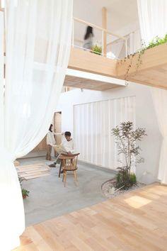 Kofunaki-House - blurring the line between indoor and outdoor.