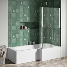 Smelly Bathroom, Bathroom Taps, Bathrooms, Shower Wall Panels, Shower Screen, Shower Tub, Shower Heads, Water Saving Shower Head, L Shaped Bath