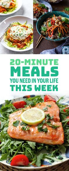 20-Minute Meals You Need In Your Life This Week