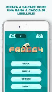 Froggy un nuovo puzzle game in cui dovremo trovare la strada.. verso la cena!