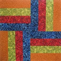 Rail Fence Quilt Square - Bing images