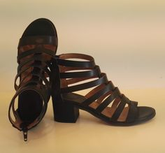 Sandalo Dei Colli in pelle nera