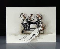 40-533 Sew much fun de Penny Black, par Micheline 'Mimi' Jourdain - voir vidéo sur facebook Mimi A La Carte