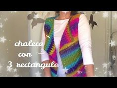 A crochet hexagon that turns into a cardigan Crochet Videos, Crochet Cardigan, Crochet Clothes, Crochet Stitches, Arm Warmers, Sewing Projects, Crochet Necklace, Knitting, Cardigans