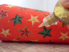 Customizando com rolo de barbante - árvore de natal - artesanato - faça você mesmo decoração de natal