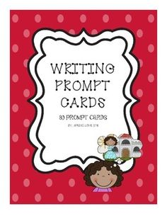 First Grade Writing Prompt Cards