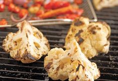 8 Foods You Didn't Know You Could Grill - Pampered Chef Grilled Polenta, Grilled Cauliflower, Grilled Zucchini, Grilled Portabella Mushrooms, Grilled Watermelon, Zuchinni Recipes, Marinated Tofu, Cooking On The Grill, Pampered Chef