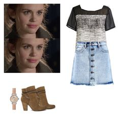 Lydia Martin - tw / teen wolf by shadyannon on Polyvore featuring polyvore fashion style Boohoo AllSaints Shinola clothing
