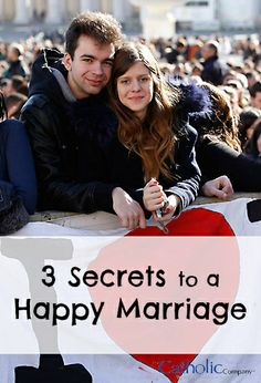 Catholic Company blog post: Pope Francis shares three tips for happy marriages.