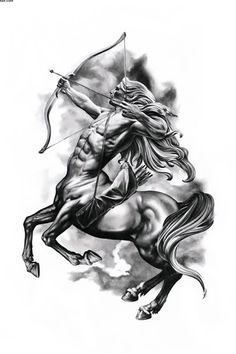 The Sagittarius Tattoo Design