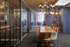 KKS was tasked with the office design for television production company Silvergate Media, located in London, England. KKS were appointed to create an Partition Door, Crittall, Workspace Design, The Office, Midcentury Modern, Workplace, Mid Century, London, Offices