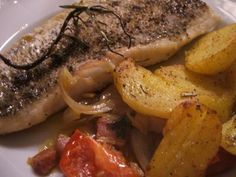 Rezept: Fisch: Hechtfilets mediterran angehaucht