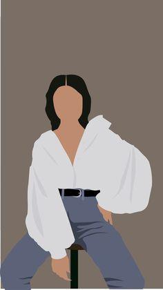 Illustration Art Drawing, Woman Illustration, Portrait Illustration, Art Drawings, Illustrations, Cover Wattpad, Abstract Face Art, Cartoon Wallpaper, Girl Wallpaper