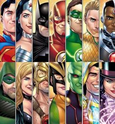 "Justice League - - Marcio Fiorito I love everyone is smiling and Batman is like "". I'm BATMAN. Arte Dc Comics, Dc Comics Superheroes, Dc Comics Characters, Justice League Characters, Young Justice, Final Fantasy, Super Heroine, Super Hero Shirts, Dc World"
